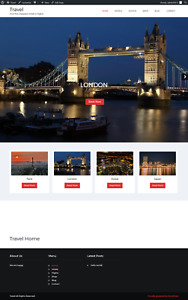Travel Hotel Flight Booking Turnkey Website Business For Sale Fully Loaded