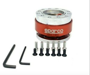 Steering Wheel Quick Release Snap Off Hub Adapter For 6 Hole Hub Sparco Omp Nrg