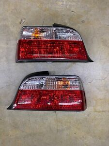 Depo Red clear Rear Tail Light Lamp For 92 99 Bmw E36 2door Coupe cabrio