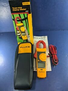 Brand New Fluke 335 Trms Clamp Meter Original Box Screen Protector