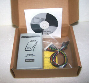 Pc Base Logic Analyzer Leaptronix Pla 1016 Usb 16 Channels Lsb msb 100 Mhz Cd