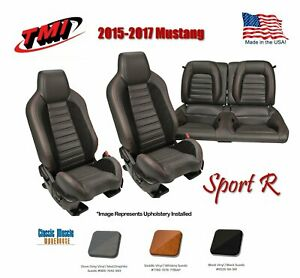 2015 2017 Mustang Coupe W Airbags Front Rear Seat Sport R Upholstery Foam