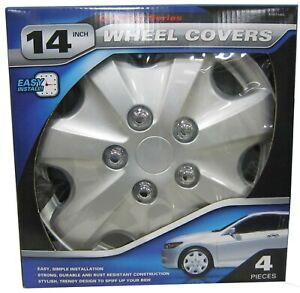 Autosmart Alloy Silver Lacquer Wheel Cover For Honda Accord 14 Kt957 14sl