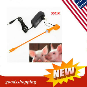 Electric Livestock Cattle Cow Pig Prod Electric Shock Handle Swine Detection