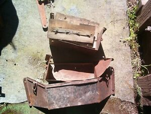 Three 1917 1925 Ford Model T Steel Coil Boxes Parts