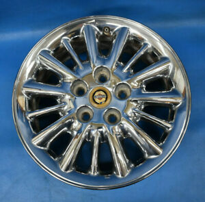 Chrysler Town And Country 2001 2004 Oem Wheel 16x6 5 Factory 16 Rim Chrome