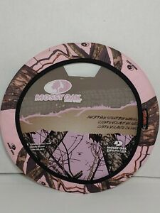 Mossy Oak Pink Break Up Country Camo Steering Wheel Cover New