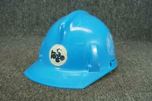 Vintage Topgard Blue Plastic Hard Hat For Sizes 6 1 2 To 7 3 4