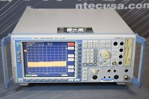 Rohde Schwarz Fsq3 b4 k82 k84 Rf Spectrum Signal Analyzer 3 6ghz calibrated