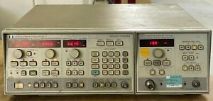 83522a 8350a 0 01 2 4ghz Sweep Signal Generator Hp