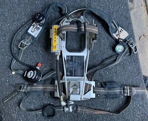 Scott 2 2 Ap50 Air Pack With Low Air Audible Bell Scba Air Pak Great Condition