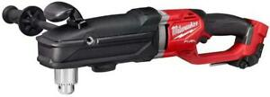 Milwaukee 2809 20 M18 Fuel Super Hawg 1 2 Right Angle Drill new
