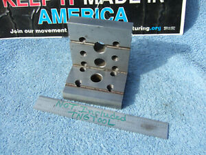 Angle Plate 1 Toolmaker Machinist Made Mill Surface Grind Angles Inspection