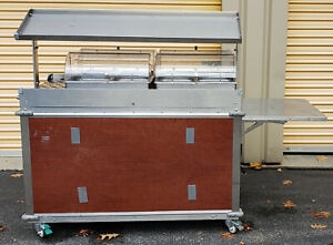 Cadco Cbc gg 4 l5 Mobileserv Hot Wells Food Cart