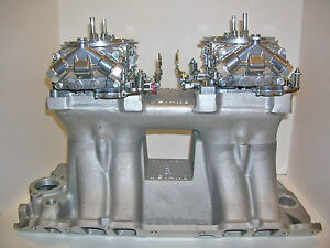 Quick Fuel 750 Cfm Dual Quad Carburetor 2x4 Mechanical Secondary Custom