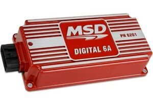 Msd Ignition Control Box 6201 6a Red