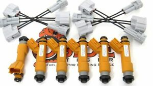 Toyota Supra 3 0l 7mge Fuel Injectors Modern Denso 12 hole Spray More Torque