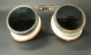 Welding Safety Goggles Motorcycle Aviator Flip Up Vtg Glasses