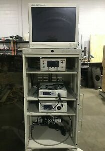 Stryker 1188 Hd X8000 Sdc Insufflator Endoscopy Laparoscopy Arthroscopy Tower