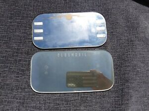 Vintage Oldsmobile Visor Mirrors Lot Of 2