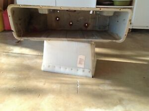 Dodge Truck Factory Under Bed Passenger Side Tool Box Assembly 1972