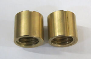 Leadscrew Nuts For Bridgeport Series I Mill x Axis Table Feed