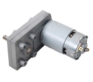 Dc 120 Volt Permanent Magnet Gear Motor All Metal Gears 40 Rpm 1 2 Amp