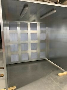 8x8x8 Powder Coating Spray Booth Paint Booth Free Shipping