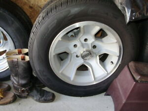 Used 1986 Monte Carlo 15 Inch Wheels Cooper Tires