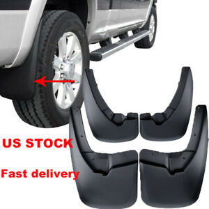 Mud Flaps Splash Guards Front Rear For 2009 2018 Dodge Ram 1500 2500 3500 4