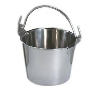 Lindy s 2 qt Stainless Steel Pail Silver