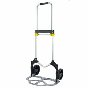 Folding Hand Truck And Dolly 330lbs Capacity Heavy duty Luggage Trolley Cart Us