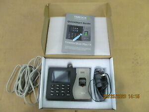 Timedox Silver Plus X Time Attendance Terminal Time Clock New Never Install