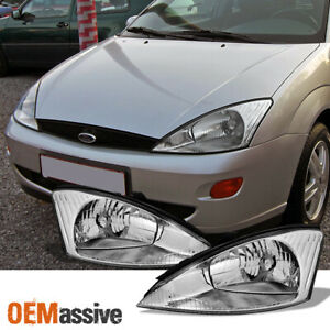 Fit 2000 2001 2002 2003 2004 Ford Focus Lh Rh Side Headlights Replacement