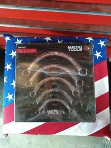 Brand New Matco 5 Piece Metric Half Moon Wrench Set Smhm5t Still In Wrapper