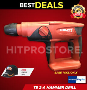 Hilti Te 2 a Hammer Drill Tool Body Only Display Free Hat Fast Ship