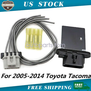 973 582 Blower Motor Resistor W Harness Kit 8713804050 For 05 18 Toyota Tacoma