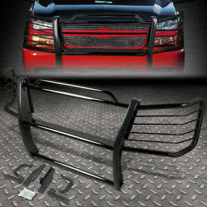 For 03 07 Chevy Silverado 1500 Mild Steel Front Bumper Brush Grille Guard Frame