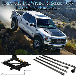Repairment Of Spare Tire Lug Wrench Tools Scissor Jack For Ford 2004 2014 F150