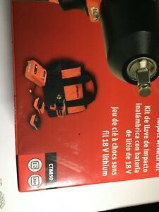 Snap On 18v Cordless 1 2 Impact Wrench Ct8850 With Battery Charger