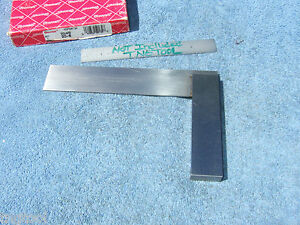Starrett No 20 6 Square Red Paper Box Toolmaker Machinist Other Usa Squares
