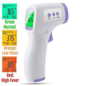 Ce Medical Grade Non contact Infrared Thermometer Lcd Laser Temperature Ir Usa