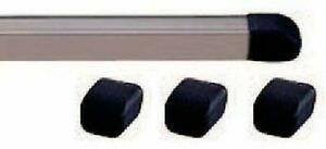 Carmate Roof Carrier Inno Bar End Caps Black Four In885 F s W tracking Japan