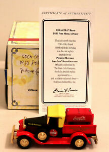 DTE MATCHBOX COLLECTIBLES YPC05 COCA COLA 1930 FORD MODEL A PICKUP W/COKE COOLER