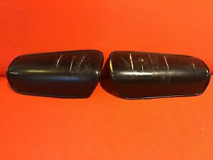 Vintage Pair Herman Miller Eames Lounge Chair Arm Rest Cushions And Brackets 1g
