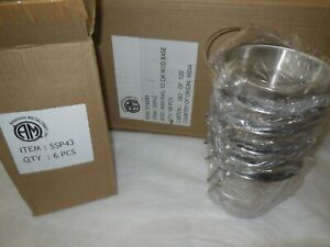 American Metalcraft Ssp43 Mini Stainless Steel Pail 5 X 4 5 8 28oz Case Of 48