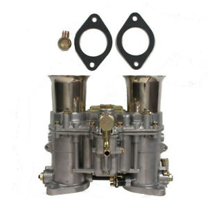 New Carburetor With Two Gaskets For Weber 48 Ida Rod 19030 018 19030 015