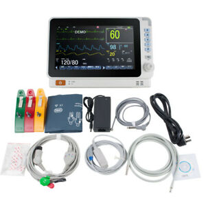 10 Medical Lcd Patient Monitor 6 parameter Icu Ccu Vital Sign Cardiac Machine