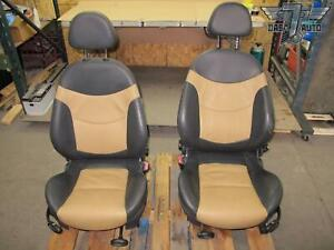 02 08 Mini Cooper R50 R53 R52 Convertible Set Of 2 Front Left Right Seat Oem