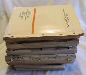 Box O Manuals 30 Motorola Micor Assorted
